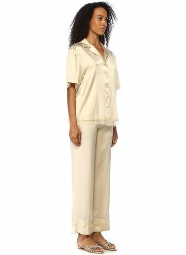 Beymen Collection Pijama Üst Ekru